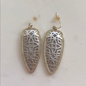 Silver and Gold Filigree Kendra Scott Earnings